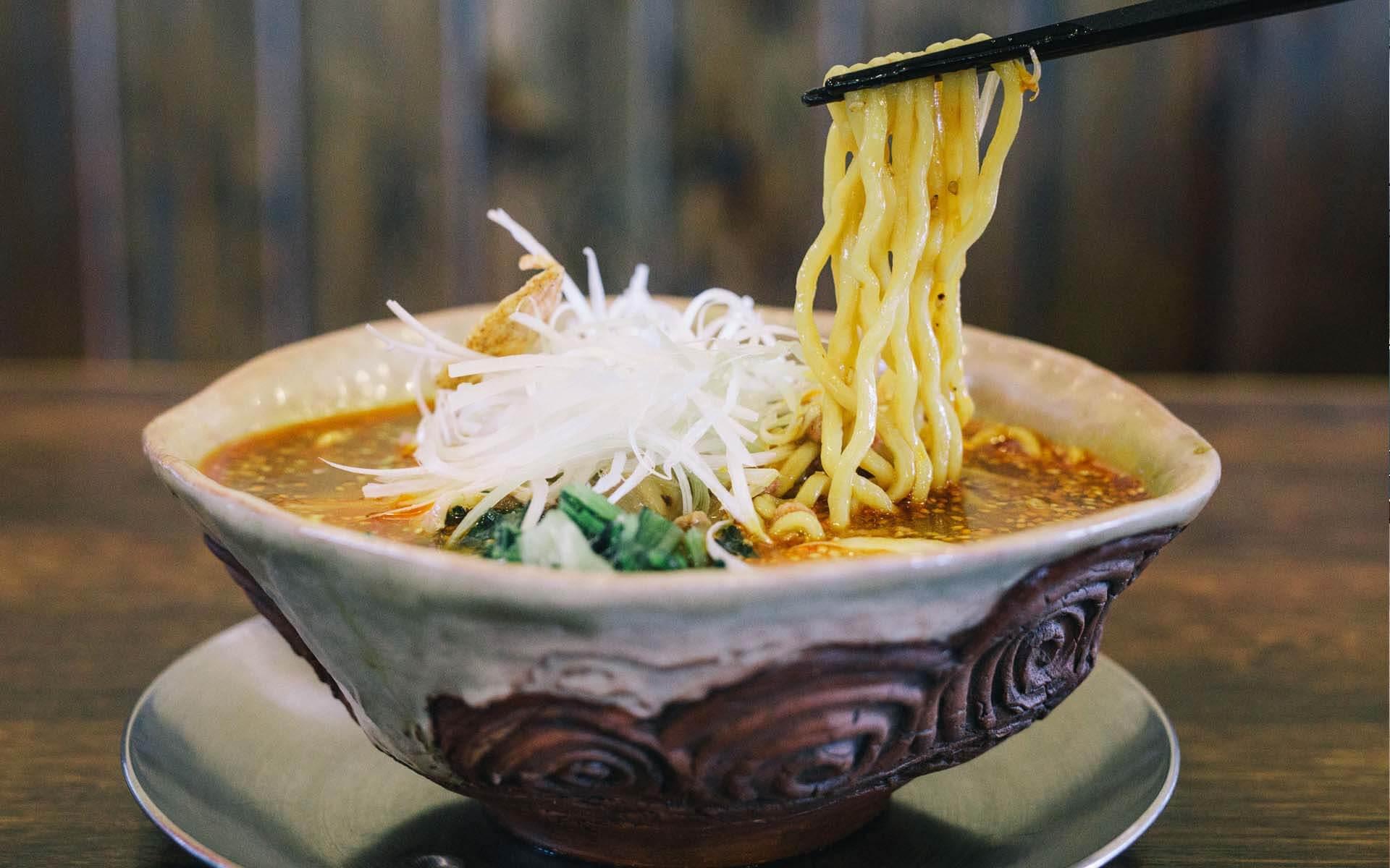 火焔坦々麺