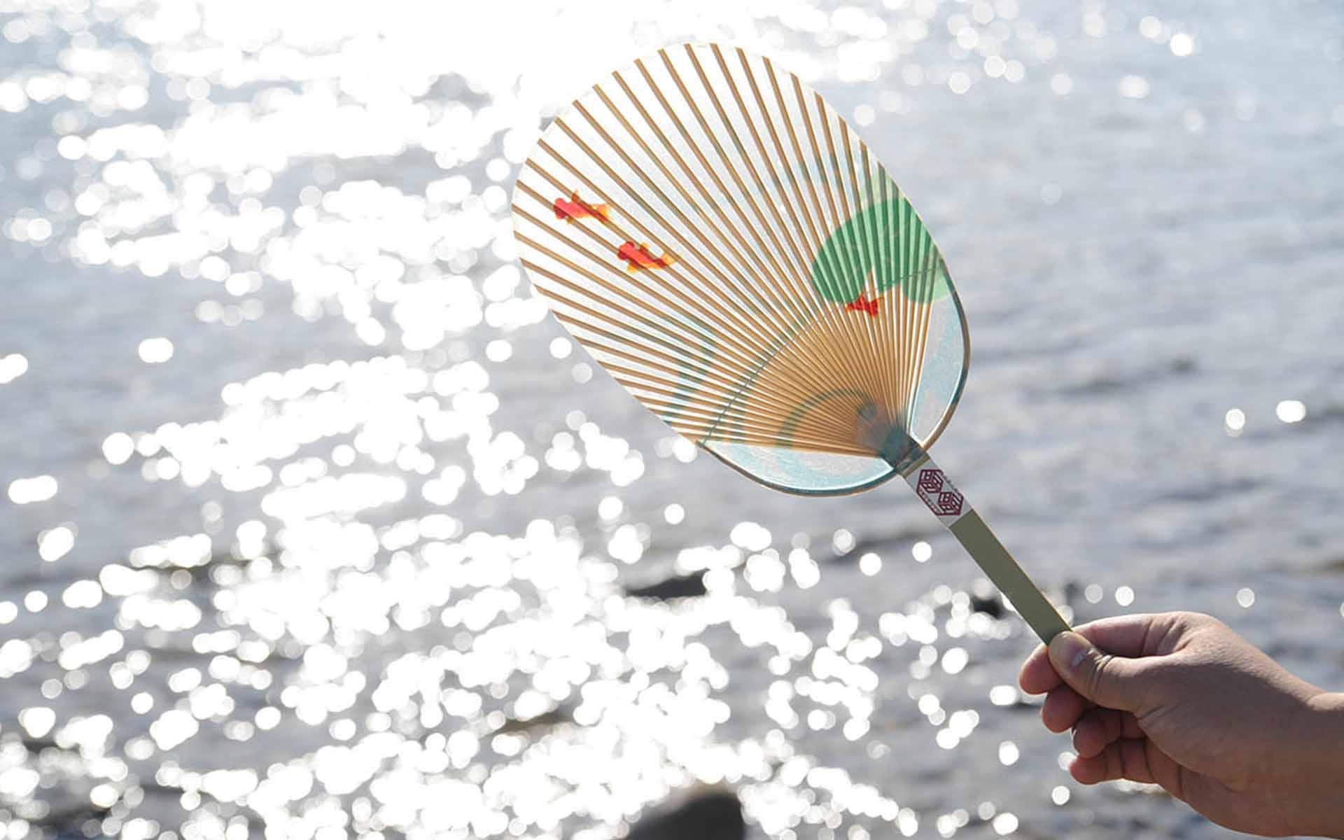 水うちわ(小判金魚) 7,560円 (税込)