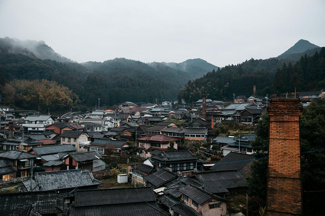 中尾山の風景