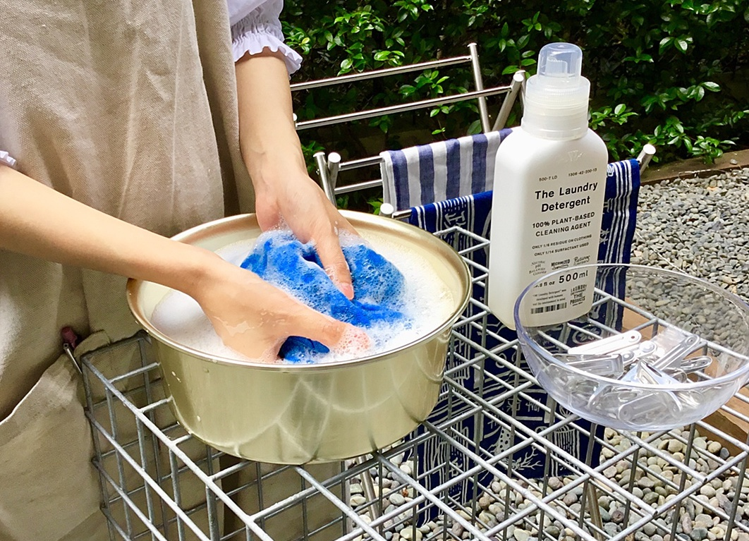 がんこ本舗さんの洗濯ワークショップを開催