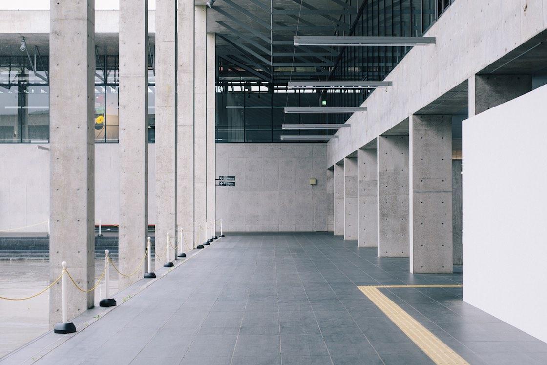 キナーレ回廊部分