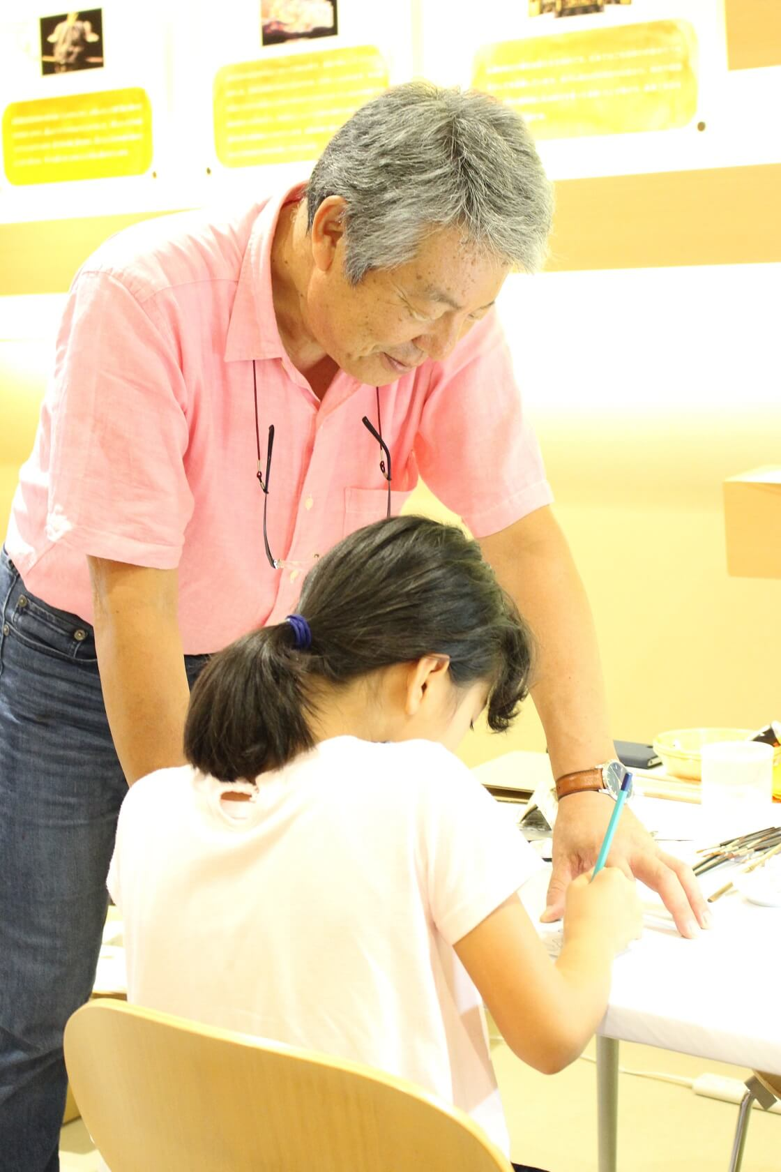 石川県伝統産業工芸館の工芸ZOOの伝統工芸体験