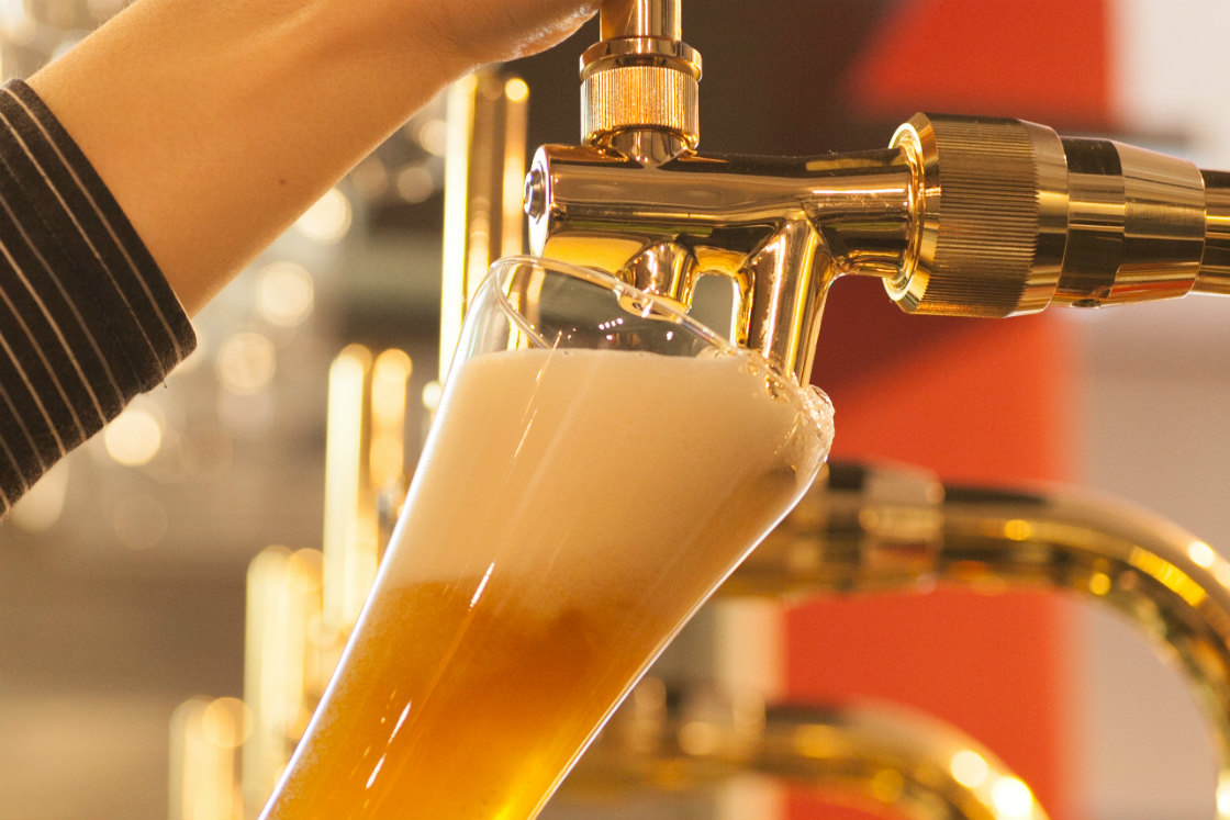 美味しいクラフトビールがいただけるALE