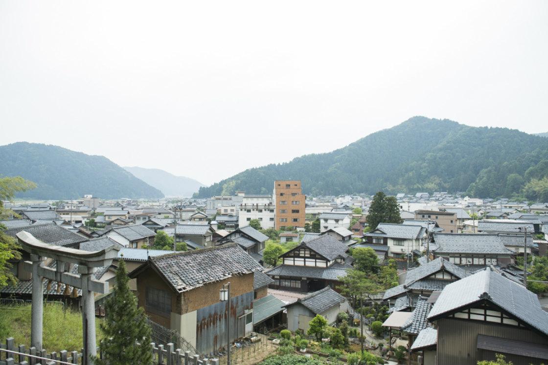 漆琳堂のある福井県鯖江市