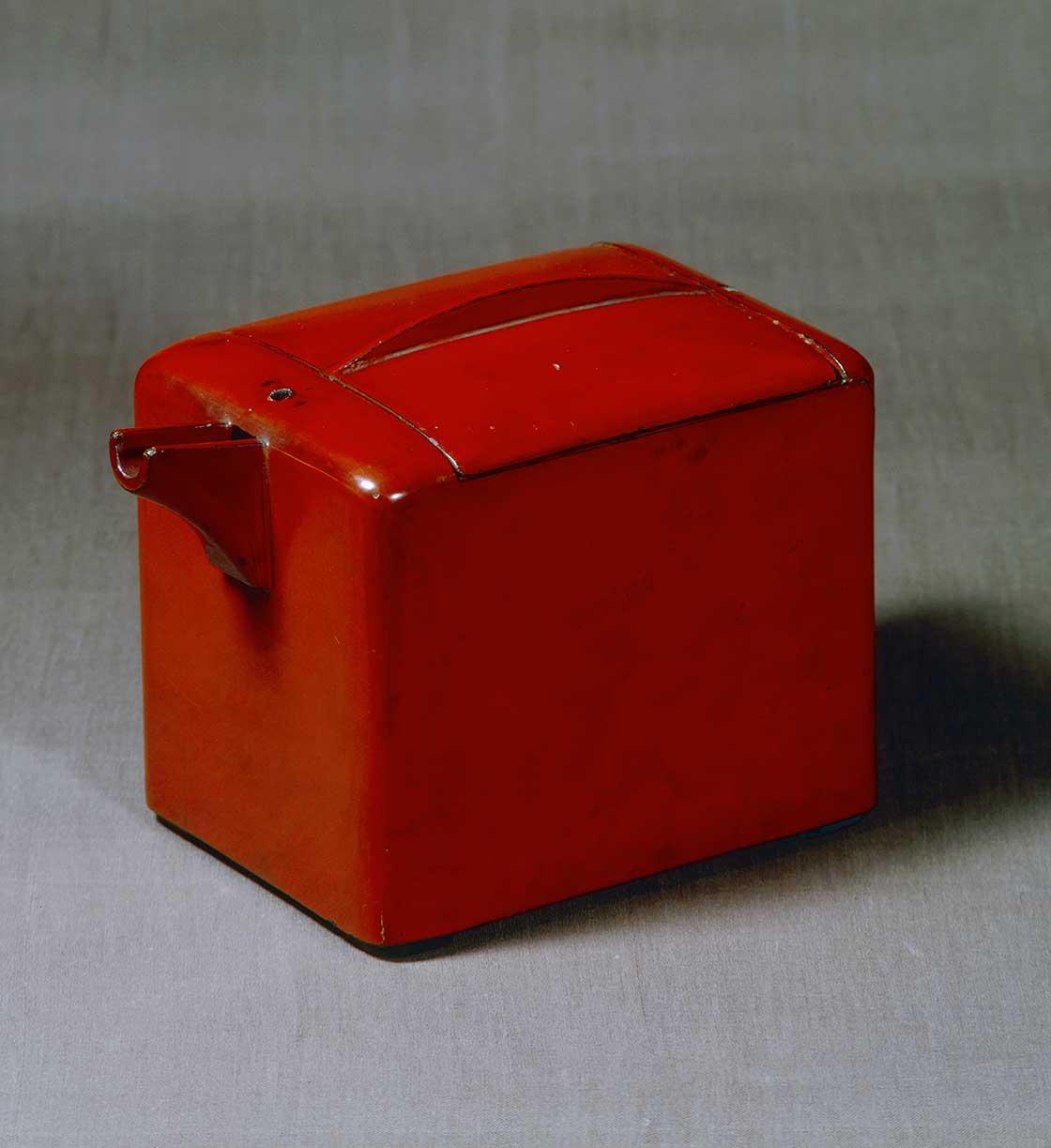 朱漆酒器 琉球王朝時代 19世紀<日本民藝館>