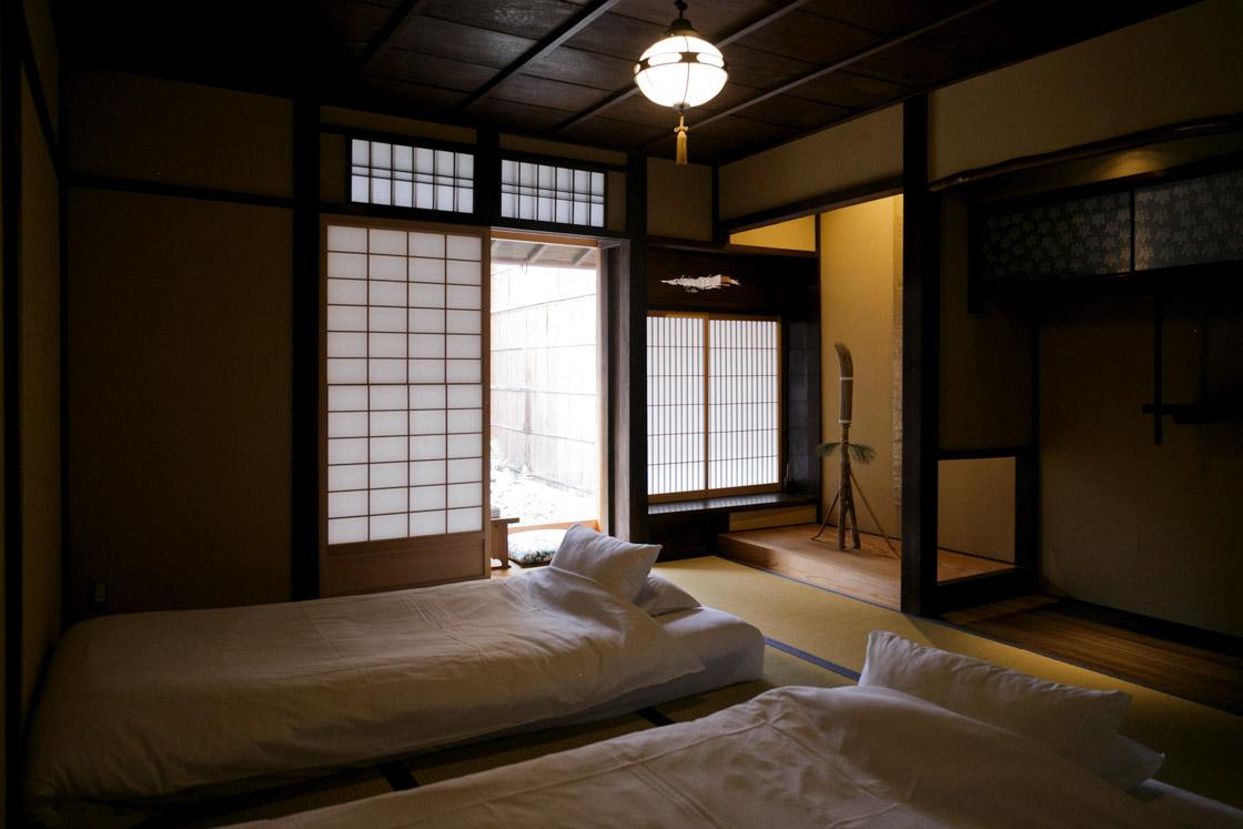 「京旅籠 むげん」1Fの102号室。