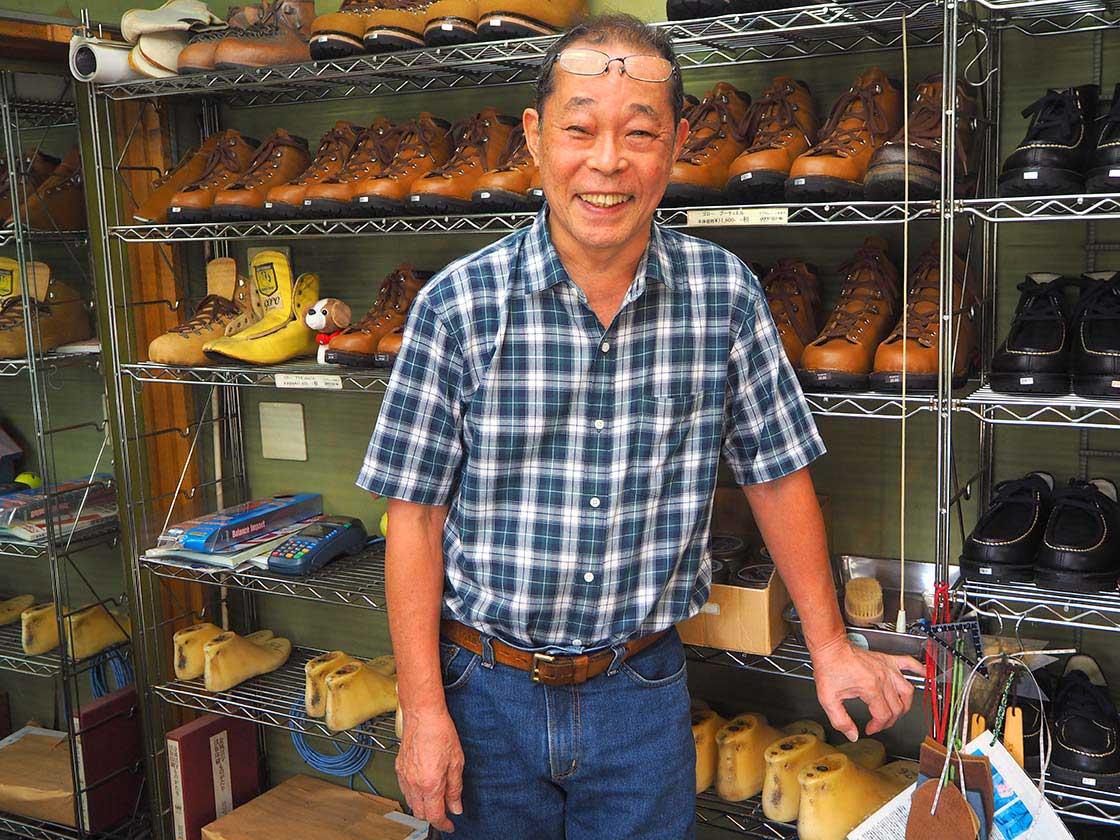 登山業界では知らぬ人のいないゴローの二代目、森本勇夫さん
