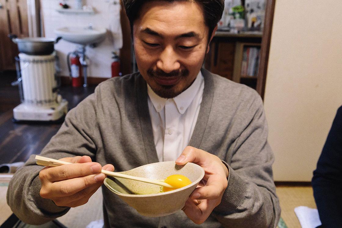 新鮮な「土佐ジロー」の卵