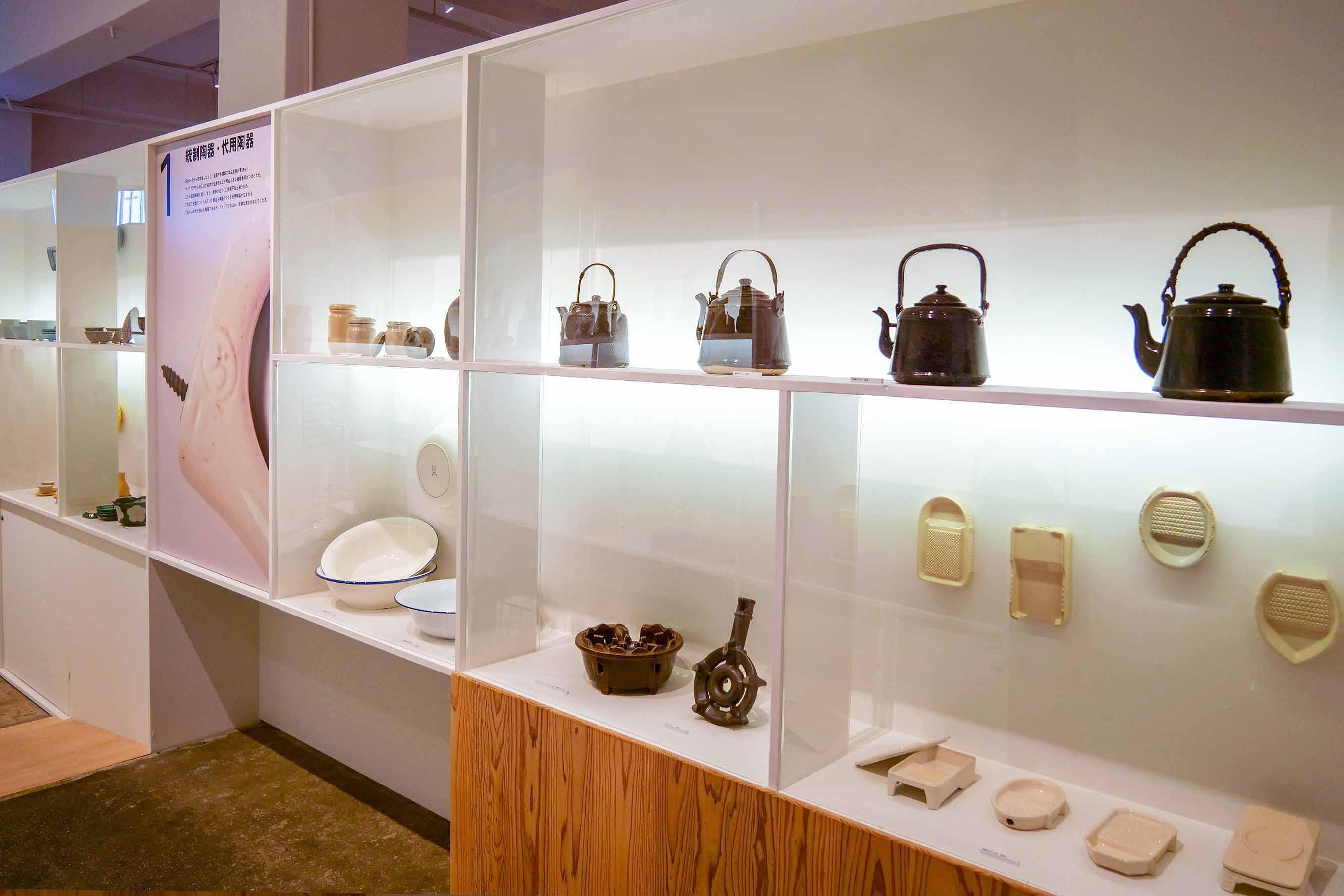 統制陶器、代替陶器の萬古焼