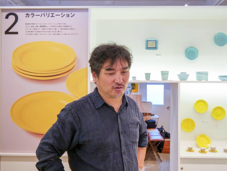 萬古焼作家ではないし、出身は名古屋という内田さん。「まさか自分で作ることになるとは‥‥」と漏らしながらミュージアムを作った経緯をお話ししてくださいました