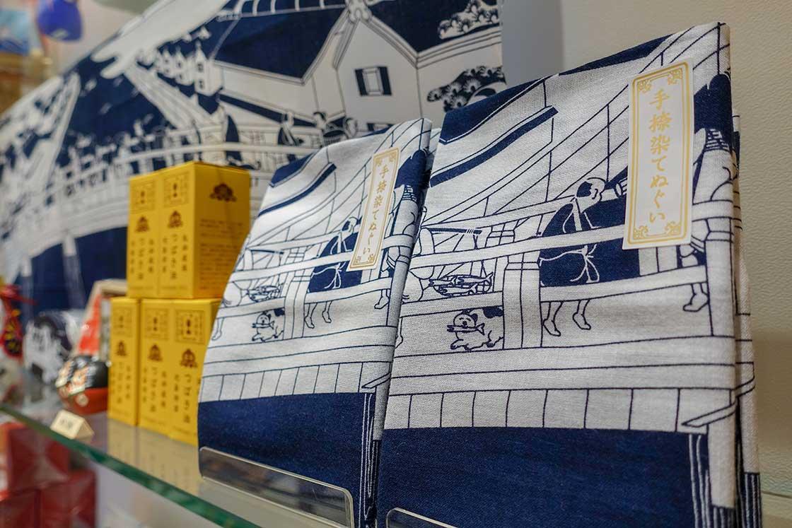 日本市・日本橋店オリジナルの手ぬぐい