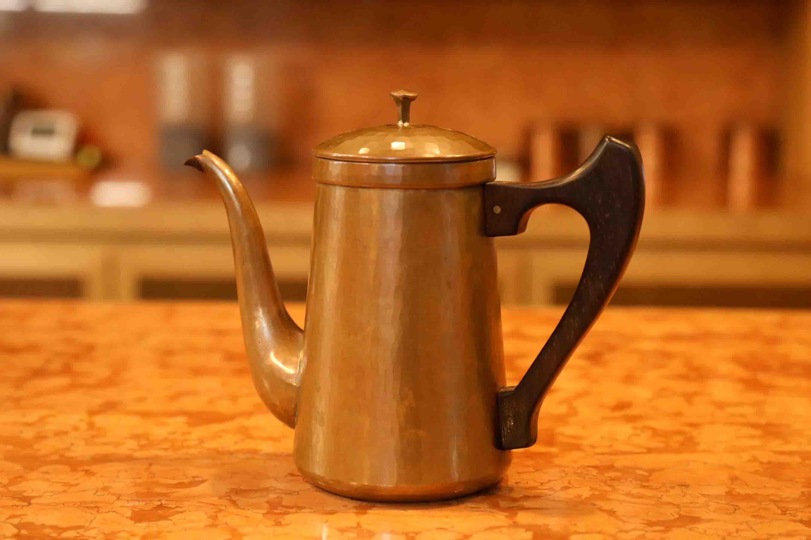 鍛金工房 WESTSIDE33と作ったコーヒーのポット