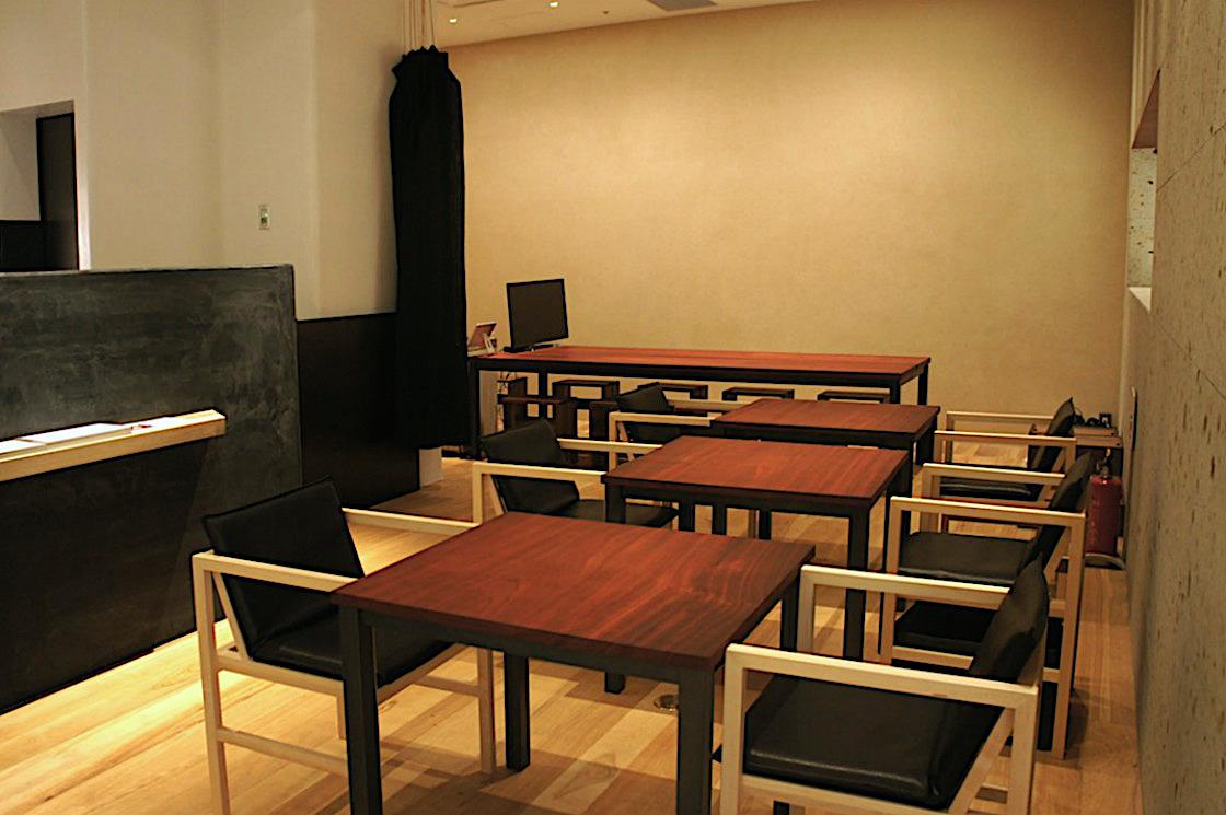 茶論 喫茶スペース