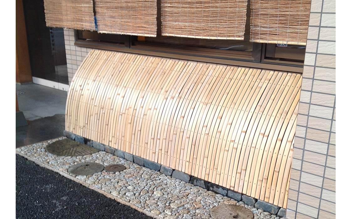 京都の竹垣・駒寄せ