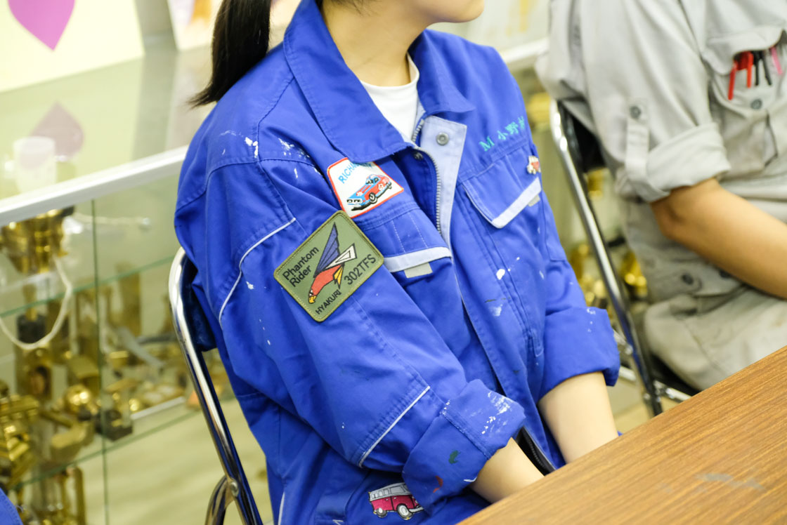 東京工芸高等学校「憧れの実習着」