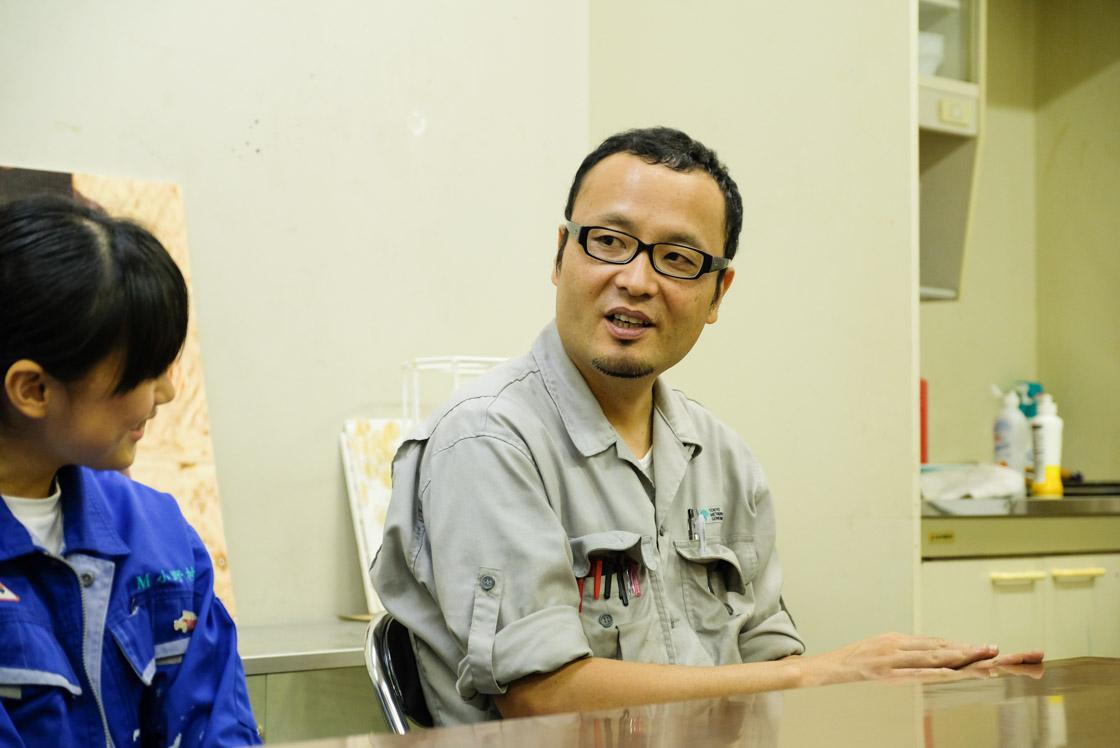 東京工芸高等学校マシンクラフト科 島田先生