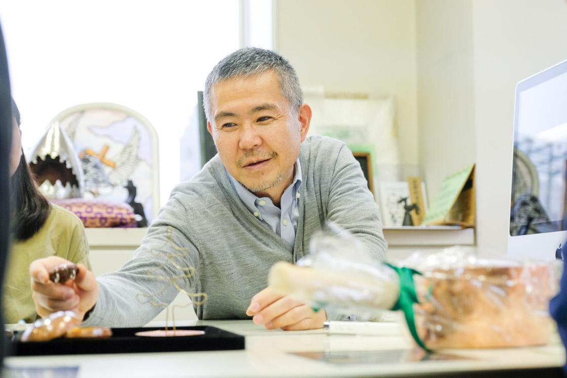 東京工芸高等学校アートクラフト科 宇高先生