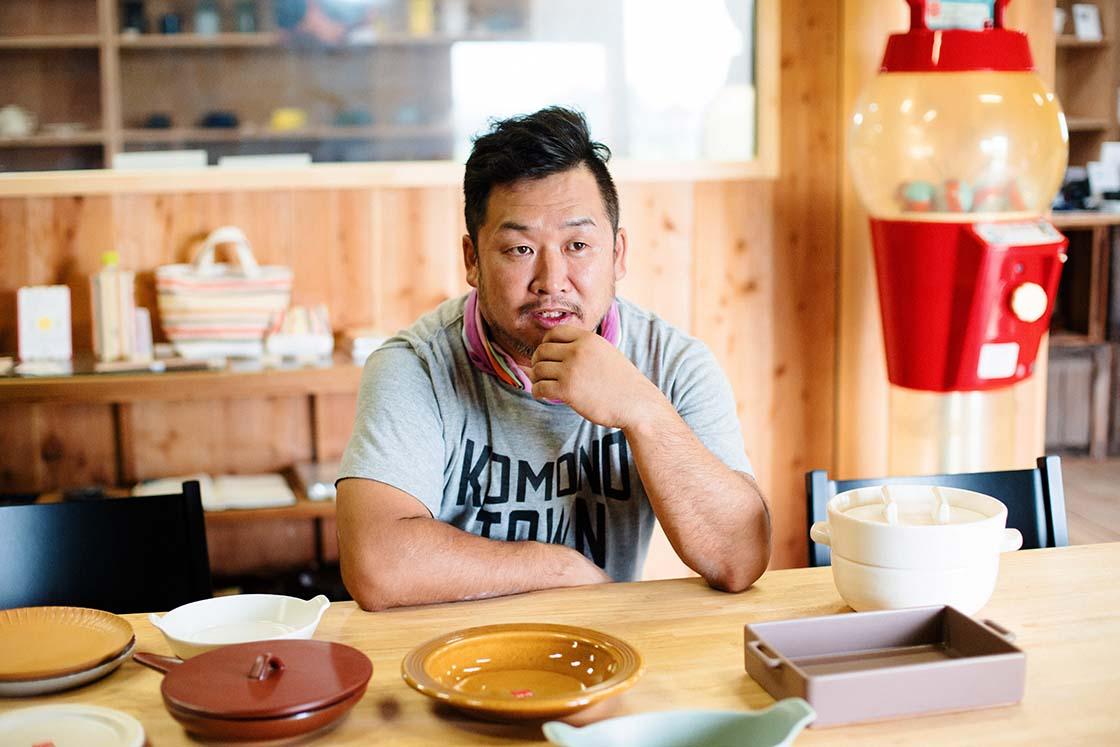 「山口陶器」の代表取締役でもある山口さん