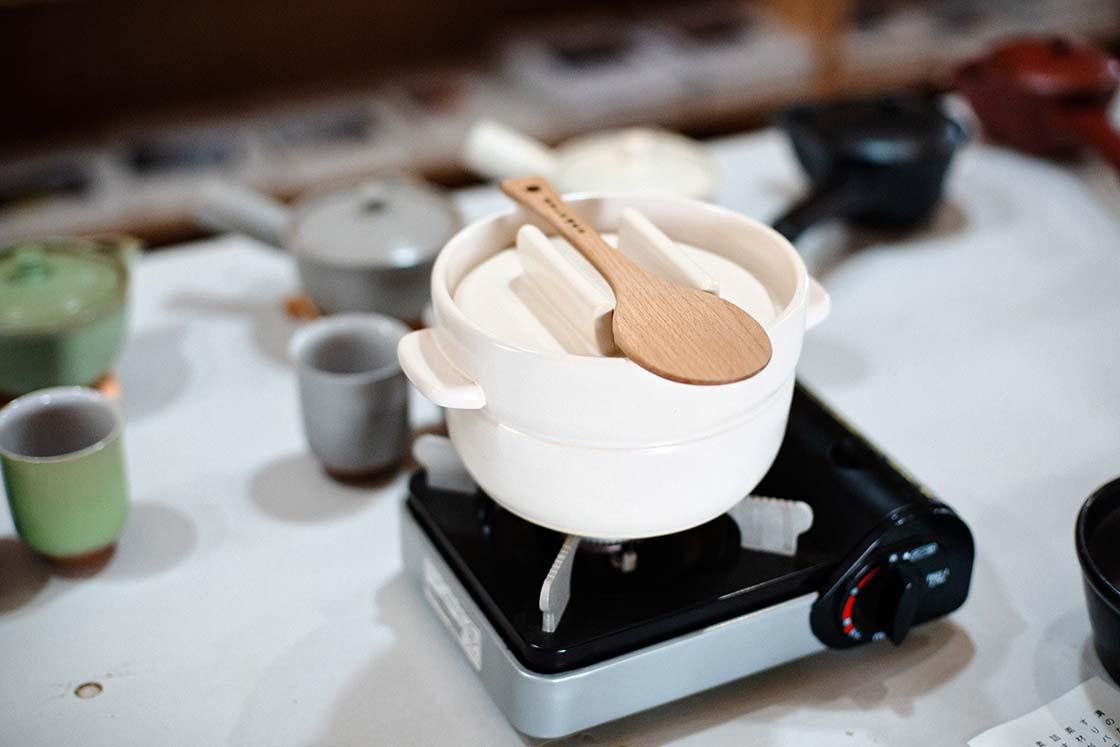 かもしか道具店の土鍋