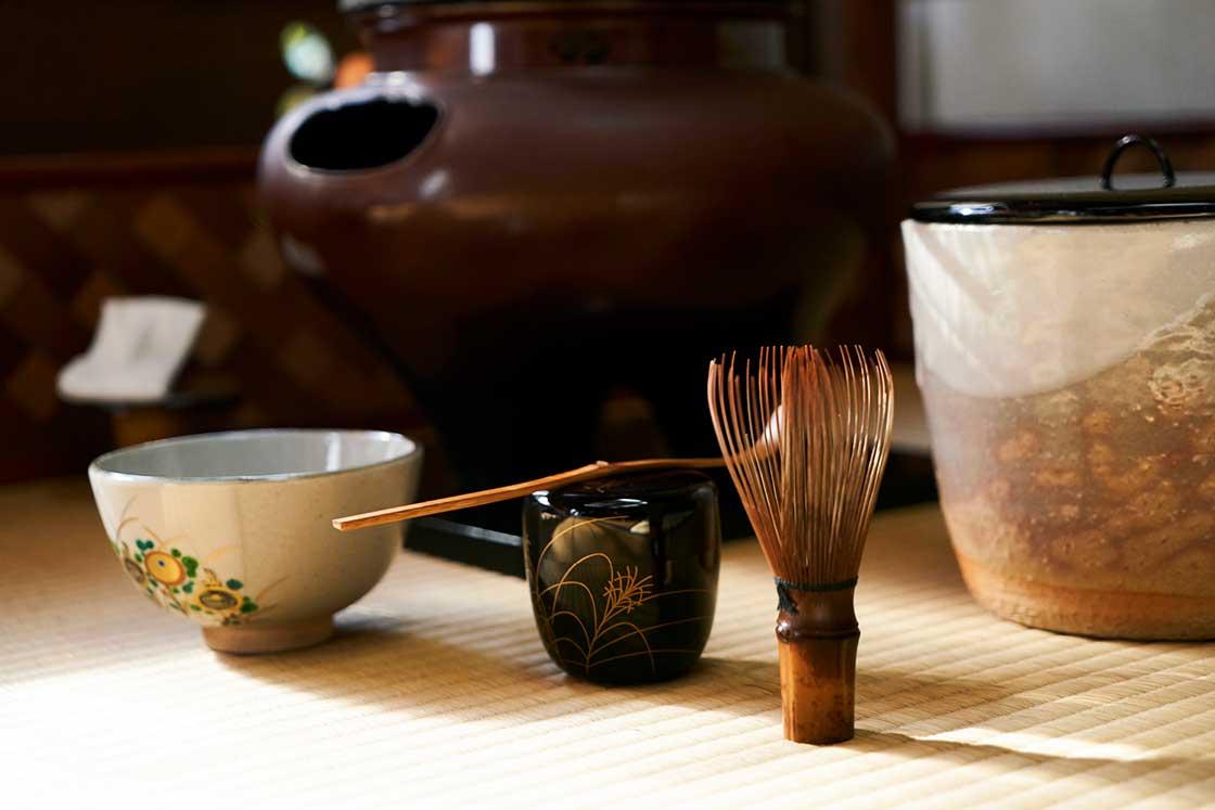 日日是好日に登場する茶道具