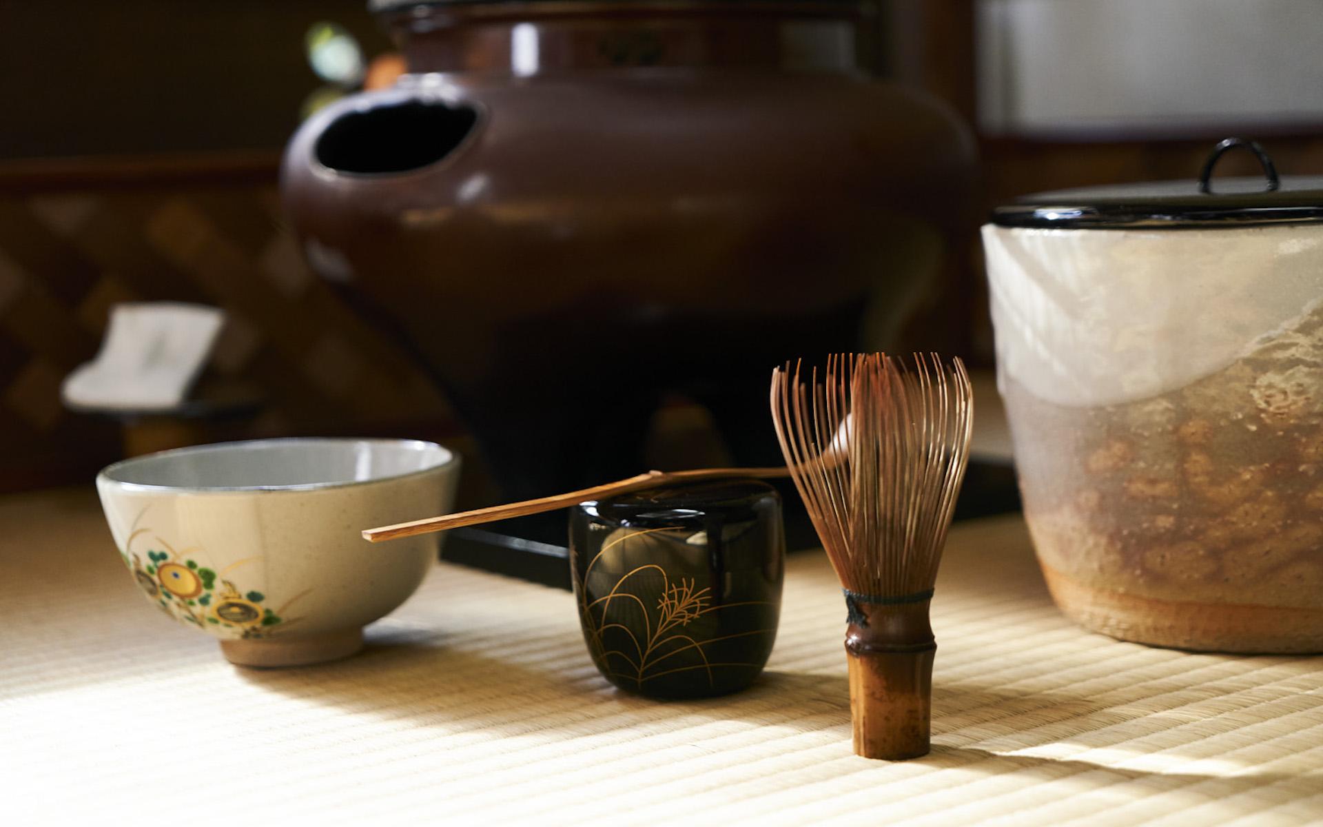 日日是好日に登場する茶道具たち