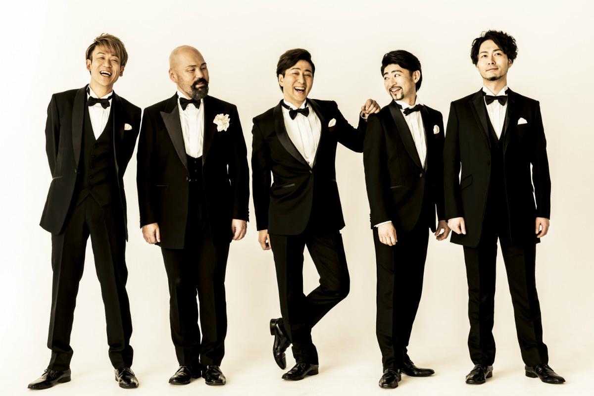 オペラユニット・ザレジェンドのメンバー写真