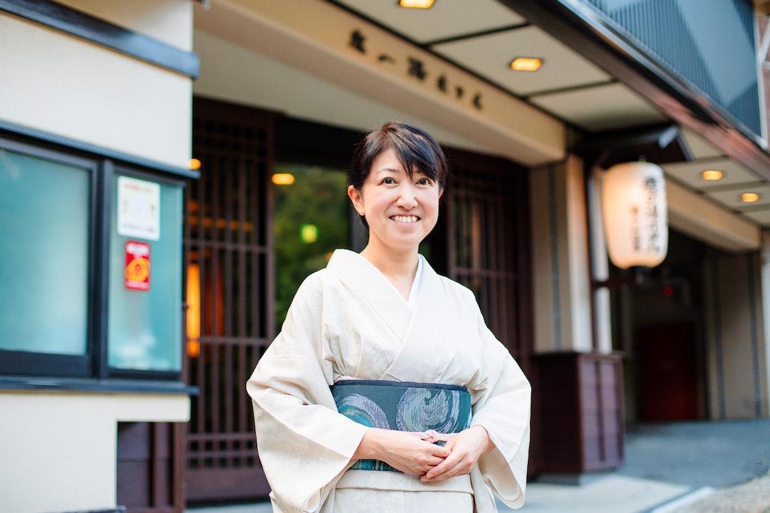 「鹿の湯ホテル」女将の伊藤寿美子さん