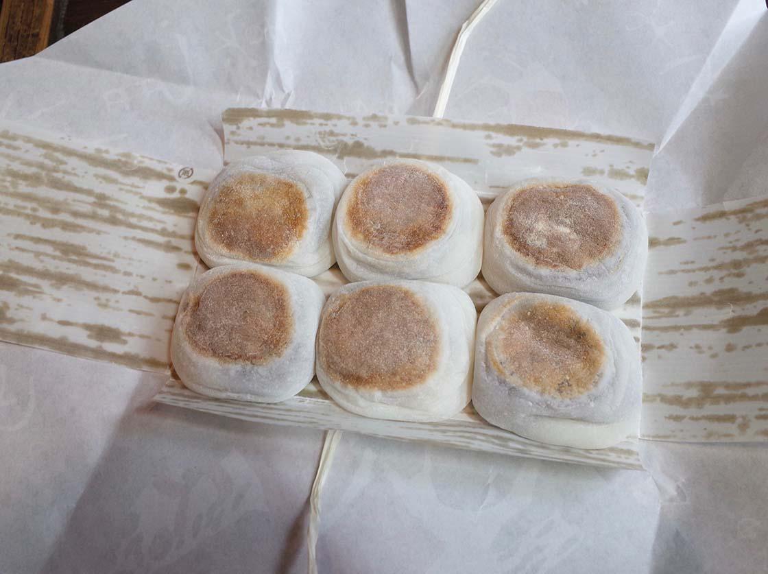 上賀茂神社そばの「神馬堂」の焼き餅