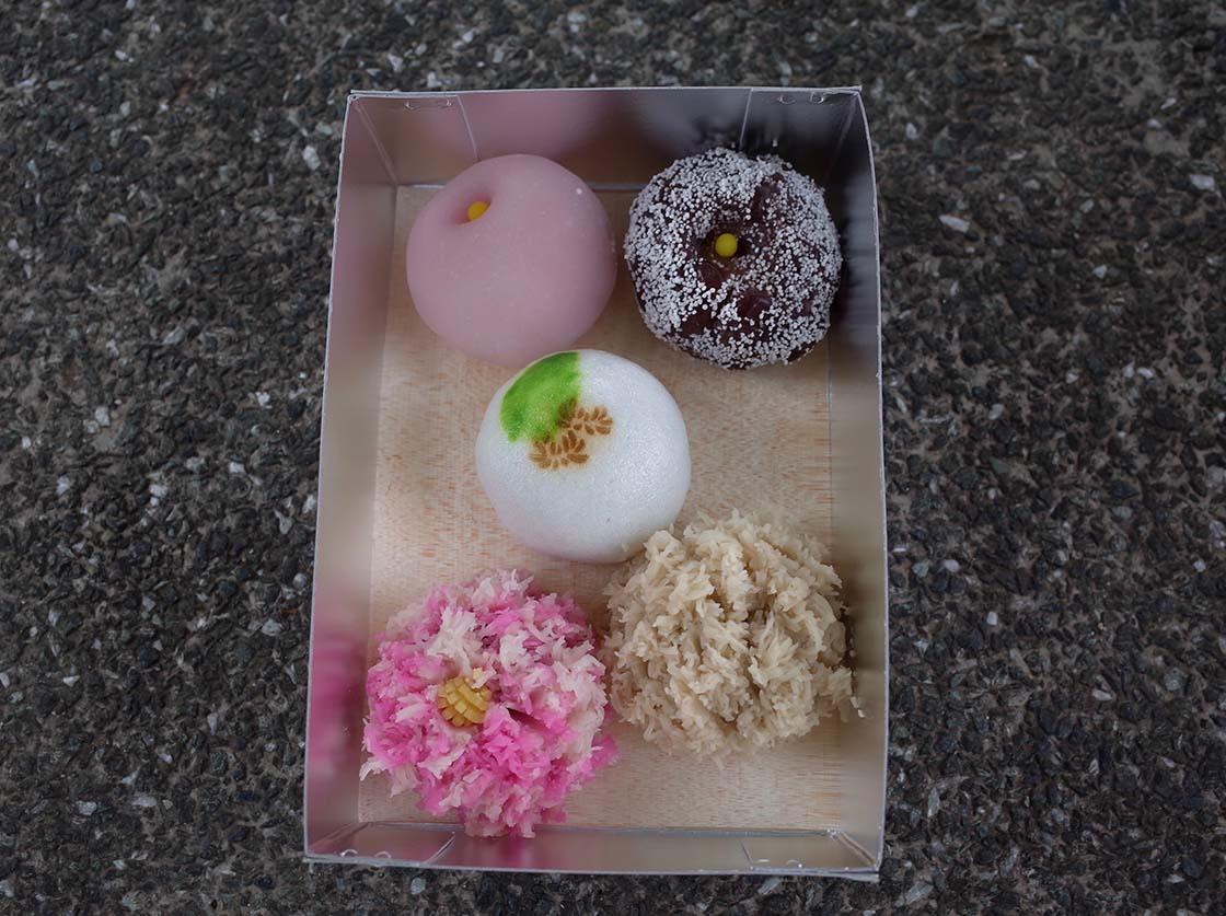 上生菓子の名店「嘯月」のお菓子