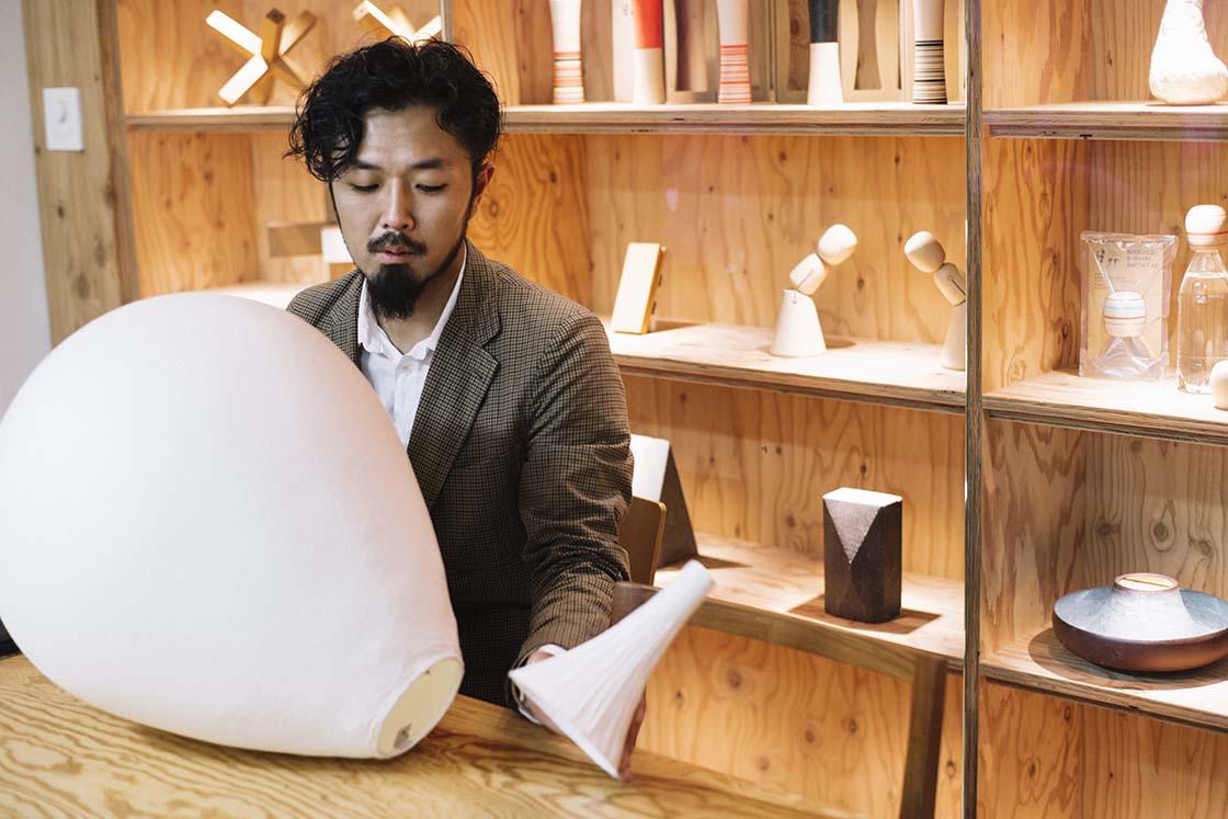 隈さんのもとで獺祭ストア設計プロジェクトを担当した堀木さん