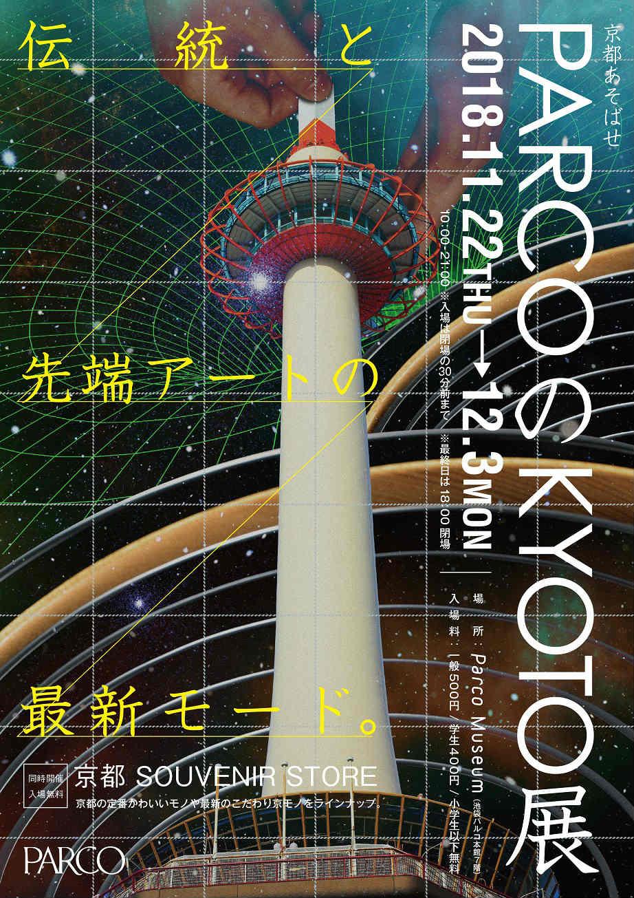 PARCOのKYOTO展のポスター
