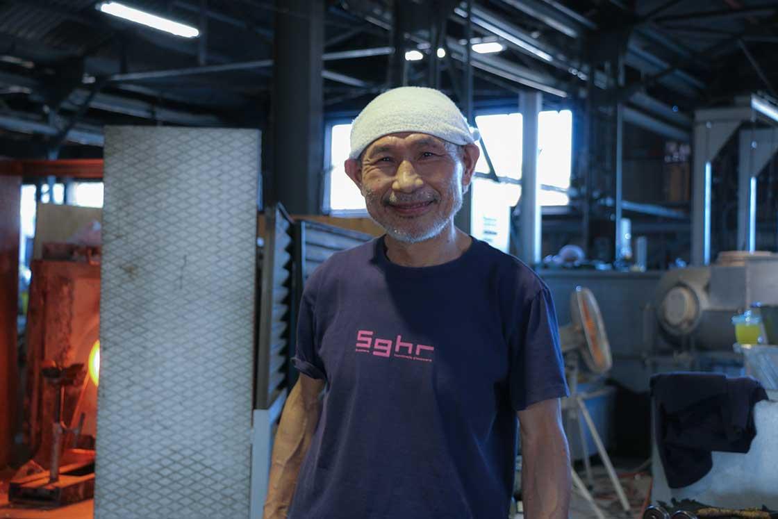 塚本さん。素敵な笑顔です
