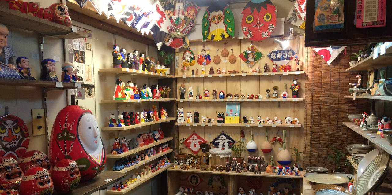 山響屋の店内写真