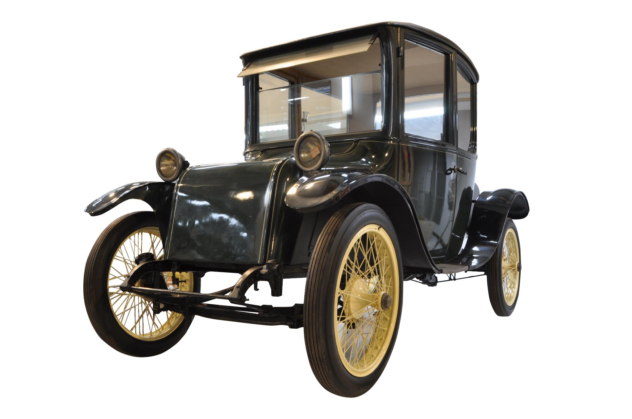 「日本を変えた千の技術博」 「ミルバーン電気自動車」 所蔵:国立科学博物館