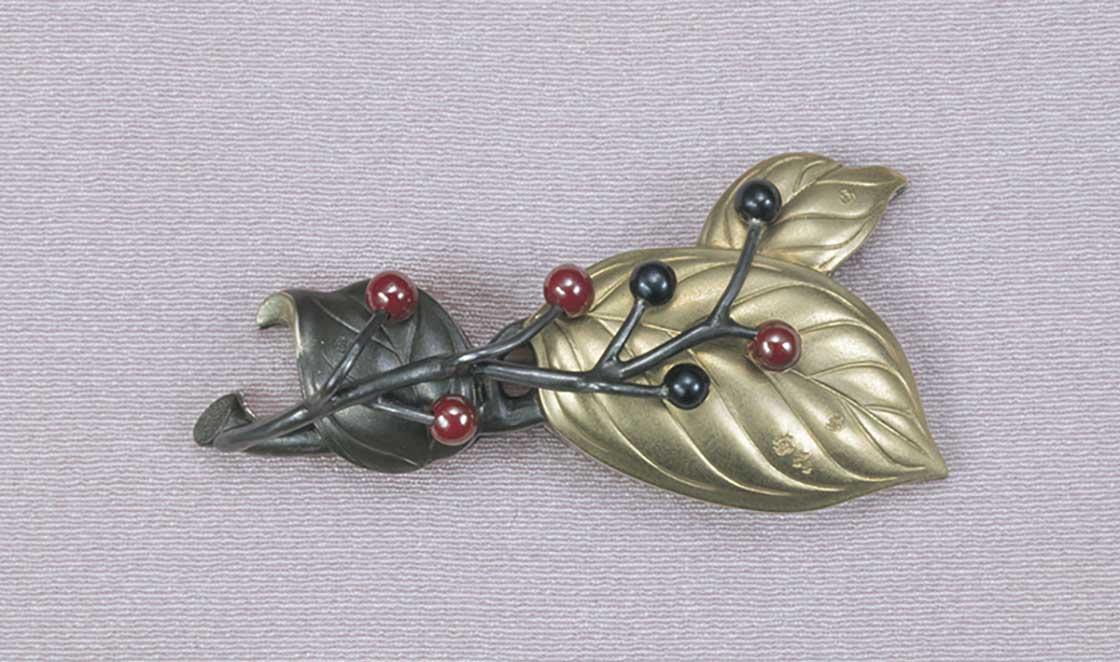 《磯の木 帯留金具》