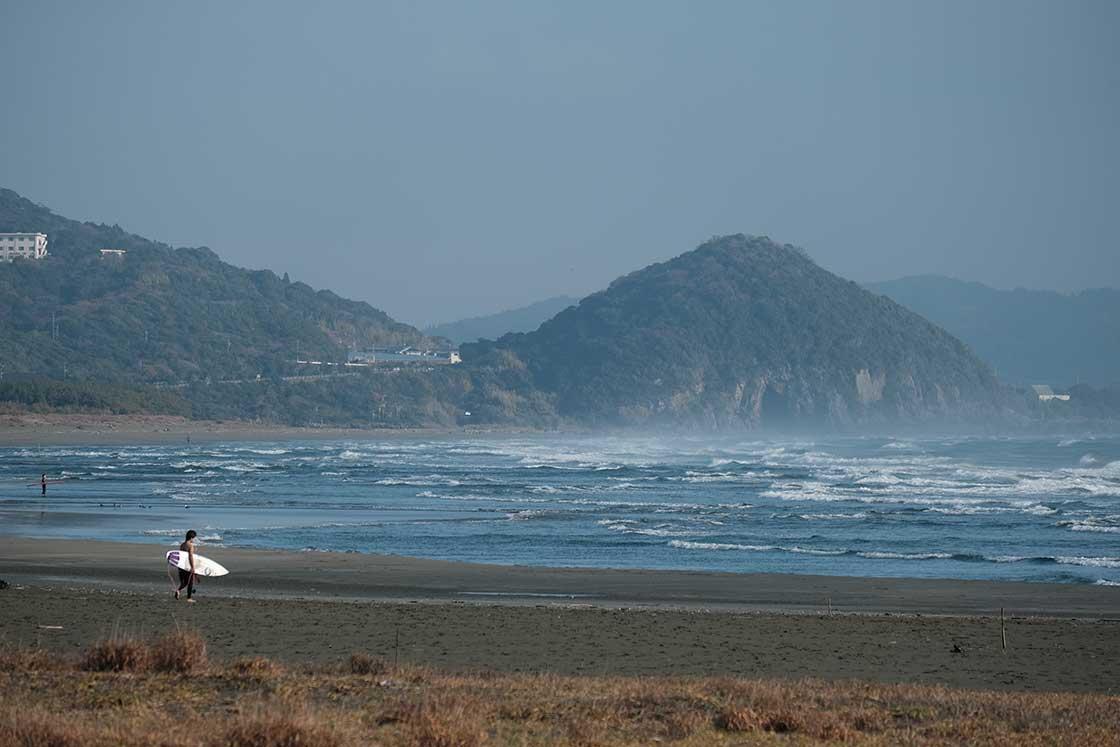 かつて、ハマグリが浜一面に打ちあがっていた「お倉ヶ浜」