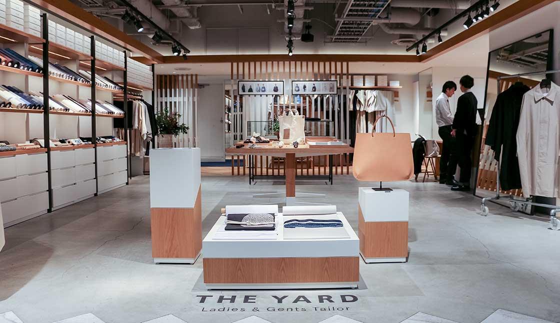 THE YARD 渋谷モディの店内