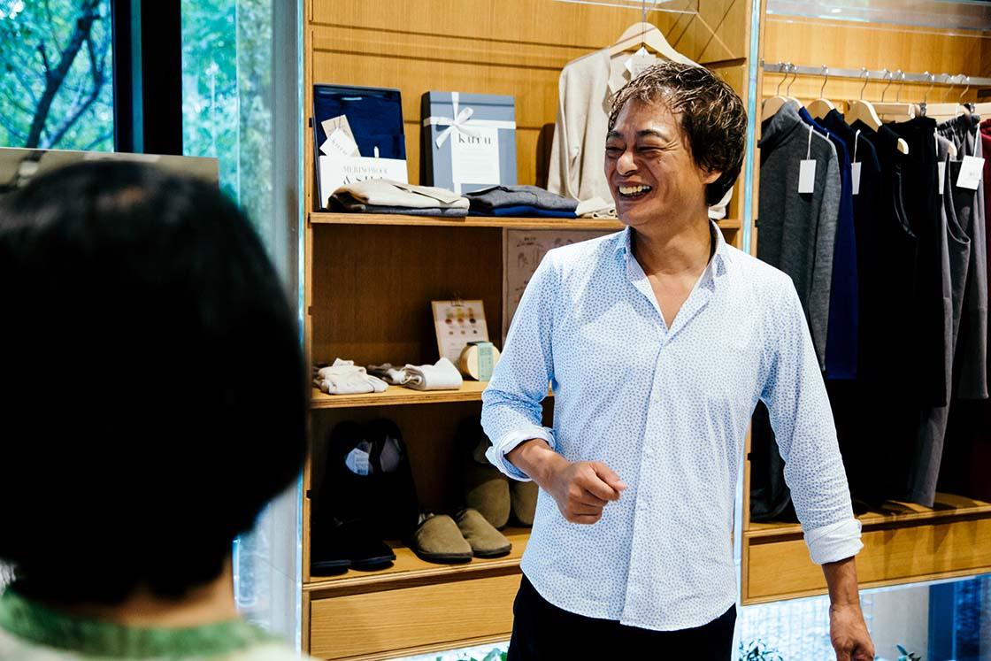洗剤メーカー「がんこ本舗」の代表きむちんこと、木村正宏さん