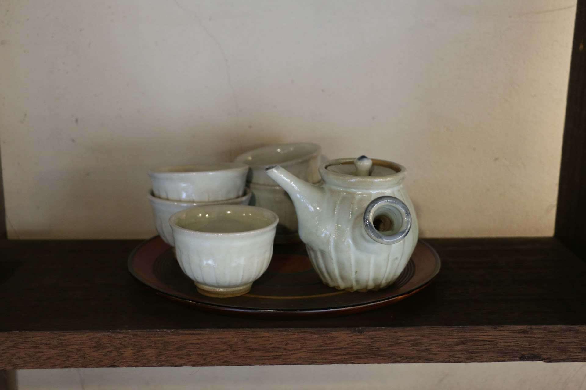 勝彦さんのお茶器セット