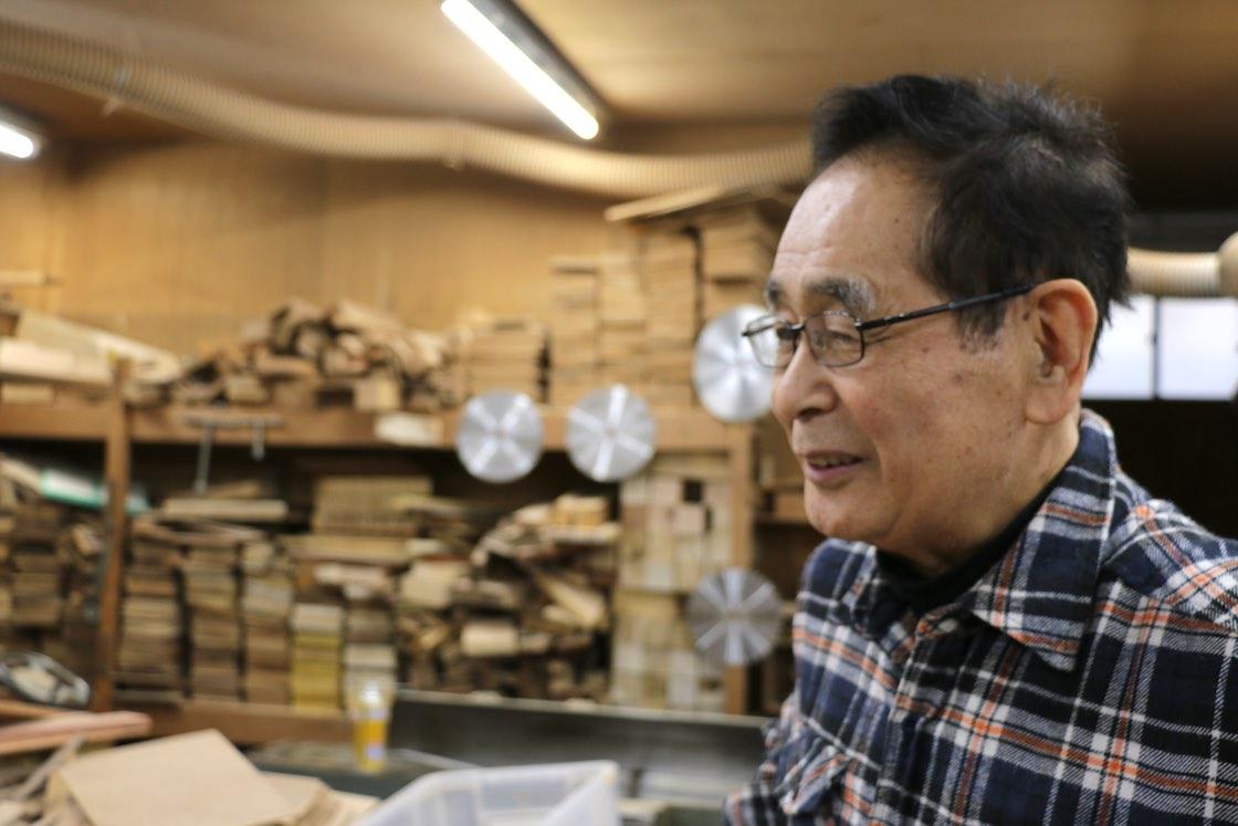 箱根寄木細工の金指さん