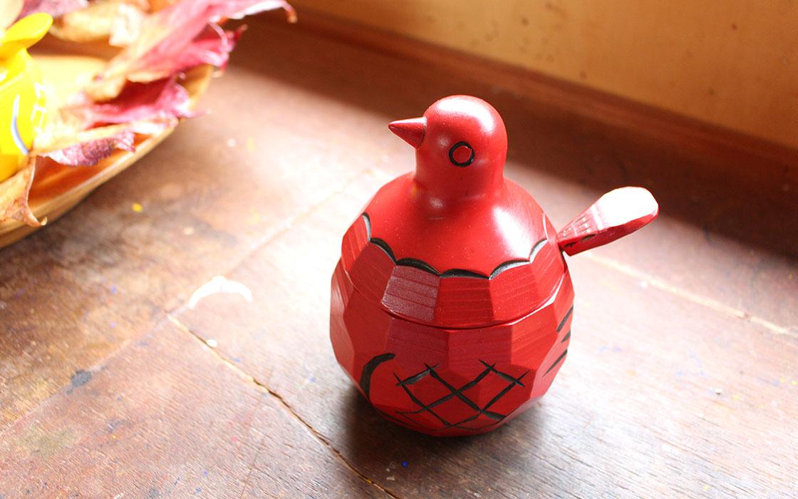 鳩の砂糖壺