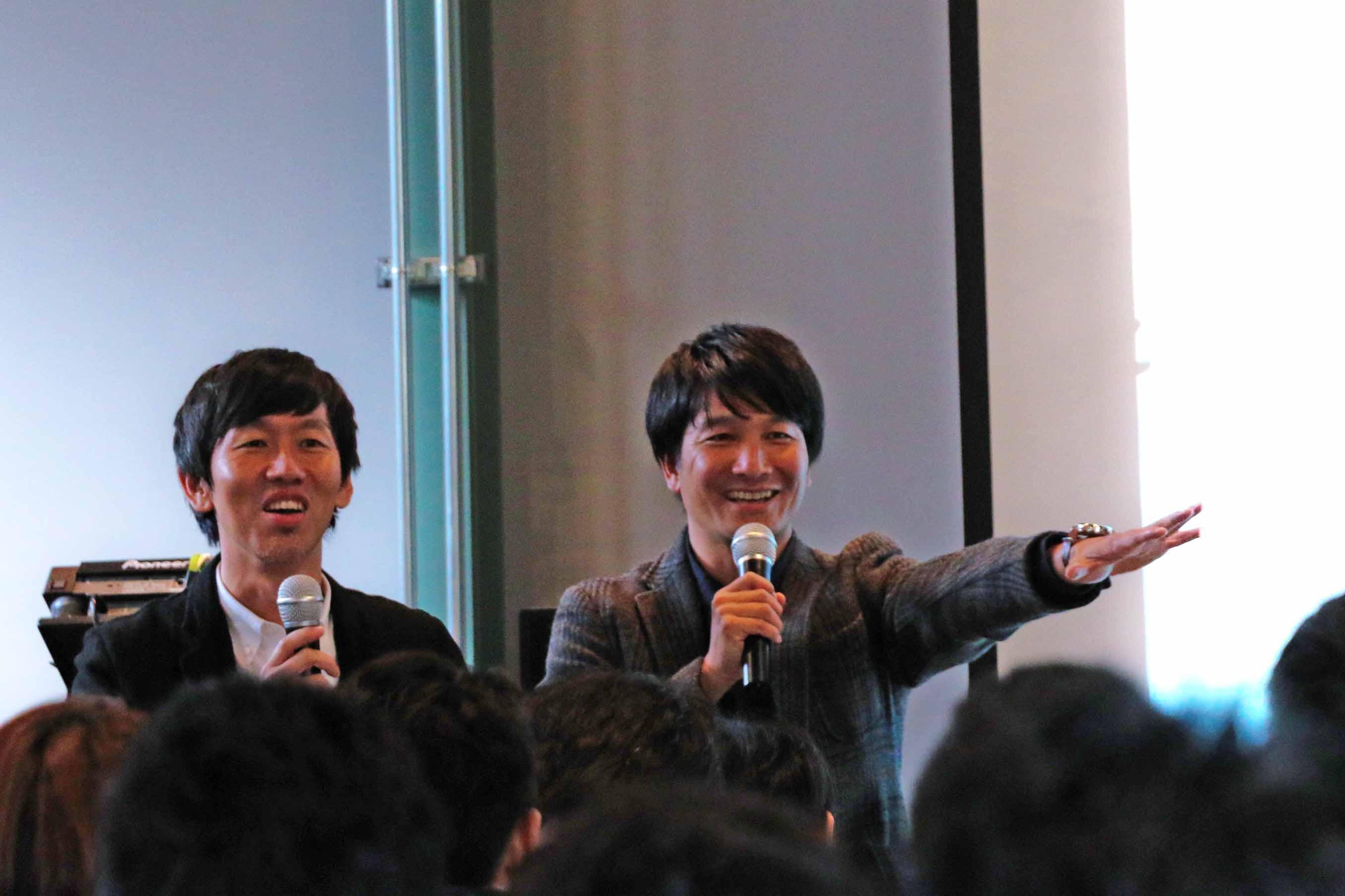 中川氏と矢部氏