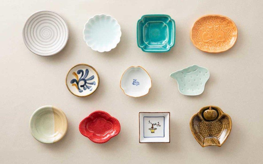 中川政七商店、産地から「豆皿」を選ぶ企画展を開催中