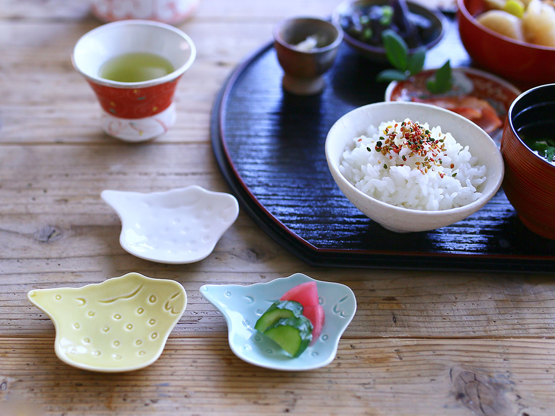 萬古焼 山口陶器の手塩皿