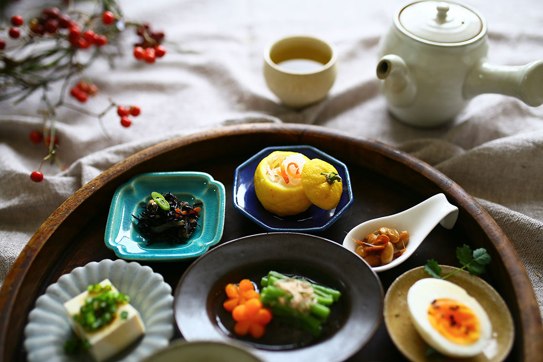 Awabi wareの豆皿