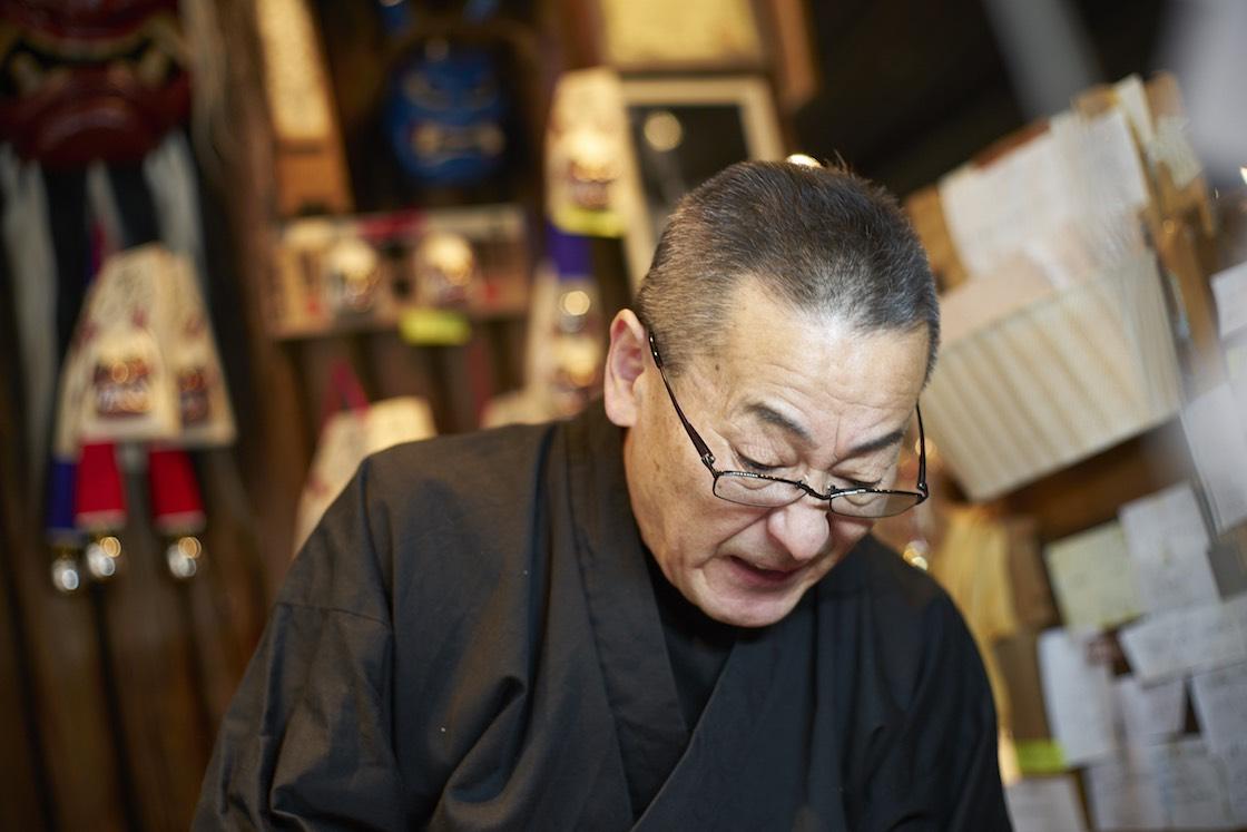しかめっ面を再現してくれた石川さん。確かに、迫力あります!