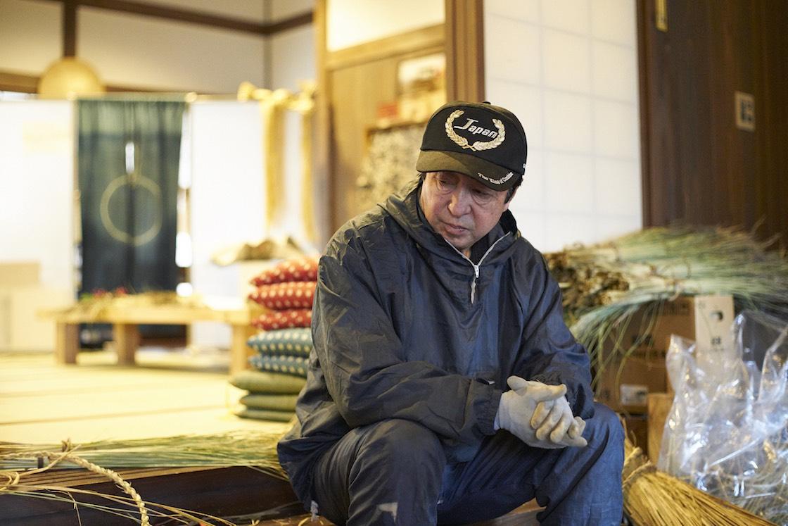 ケデ編み名人、畠山富勝さん
