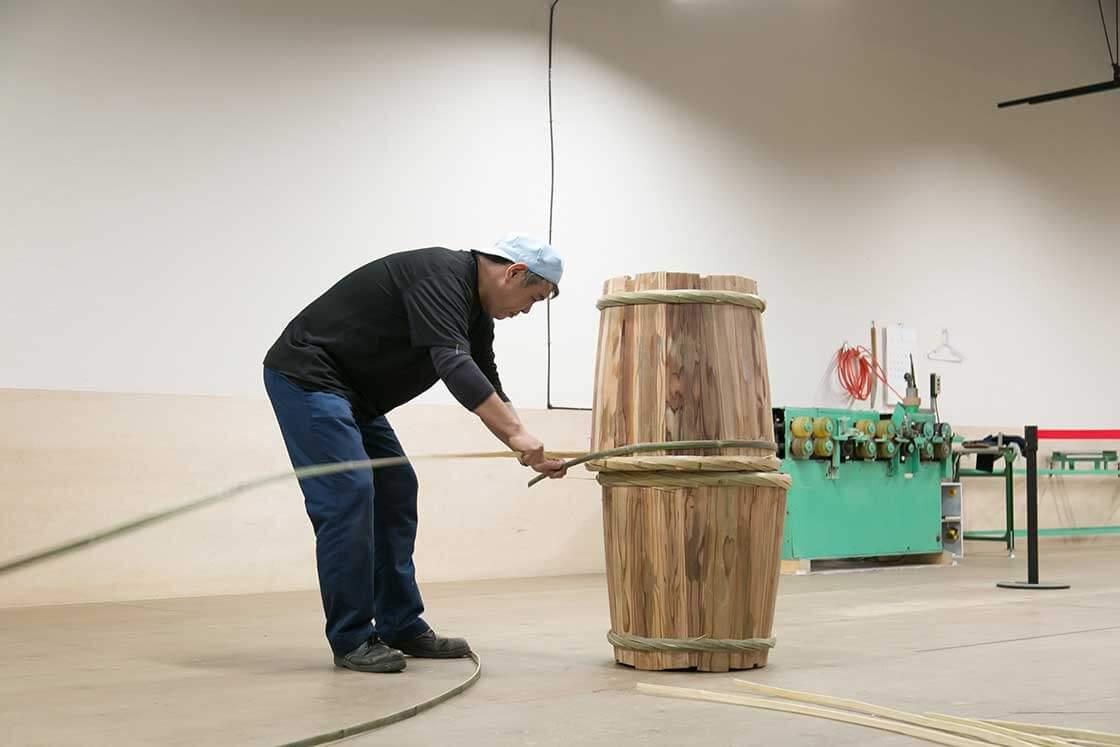 樽に合わせてサイズを決める