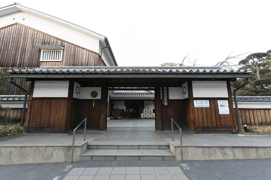 菊正宗の酒造記念館