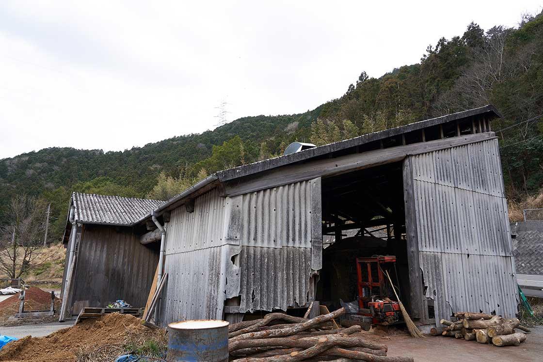 日高川町 炭焼き窯